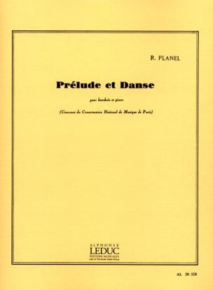 Prélude et danse Robert Planel Partition Hautbois - laflutedepan