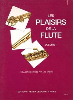 Les Plaisirs de la Flûte Volume 1 Luc Urbain Partition laflutedepan