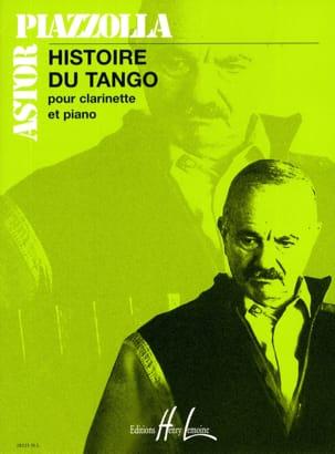 Histoire du Tango - Clarinette Piano Astor Piazzolla laflutedepan