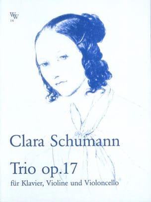 Trio Op.17 - Violon, Cello et Piano Clara Schumann laflutedepan