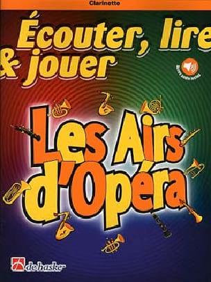 Les Airs d'Opéra - Clarinette Partition Clarinette - laflutedepan