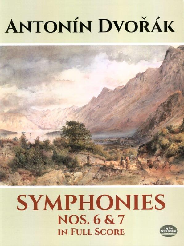 Symphonies N° 6 et 7 - Full Score - DVORAK - laflutedepan.com