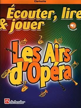 Les Airs d'Opéra - Clarinette - Partition - laflutedepan.com