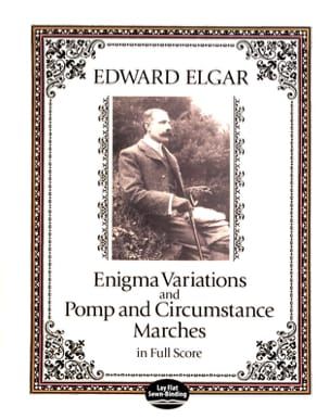 Enigma Variations and Pomp Circumstance Marches - Full Score laflutedepan