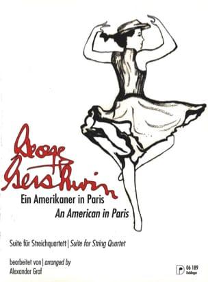 Un Américain A Paris GERSHWIN Partition Quatuors - laflutedepan