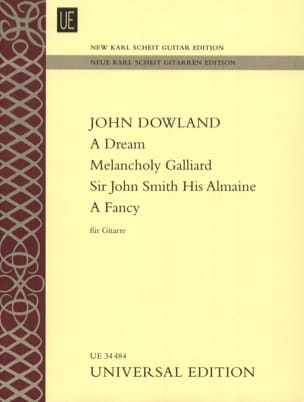 A Dream - Melancholy Galliard - Sir John Smith His Almaine - A Fancy laflutedepan