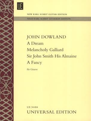 A Dream - Melancholy Galliard - Sir John Smith His Almaine - A Fancy - laflutedepan.com