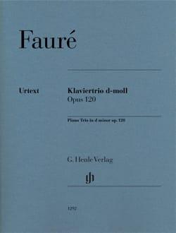 Trio avec piano en ré mineur op. 120 FAURÉ Partition laflutedepan