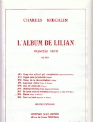 L'Album de Lilian op. 139 - n° 8 : Pleurs - Flûte piano - laflutedepan.com