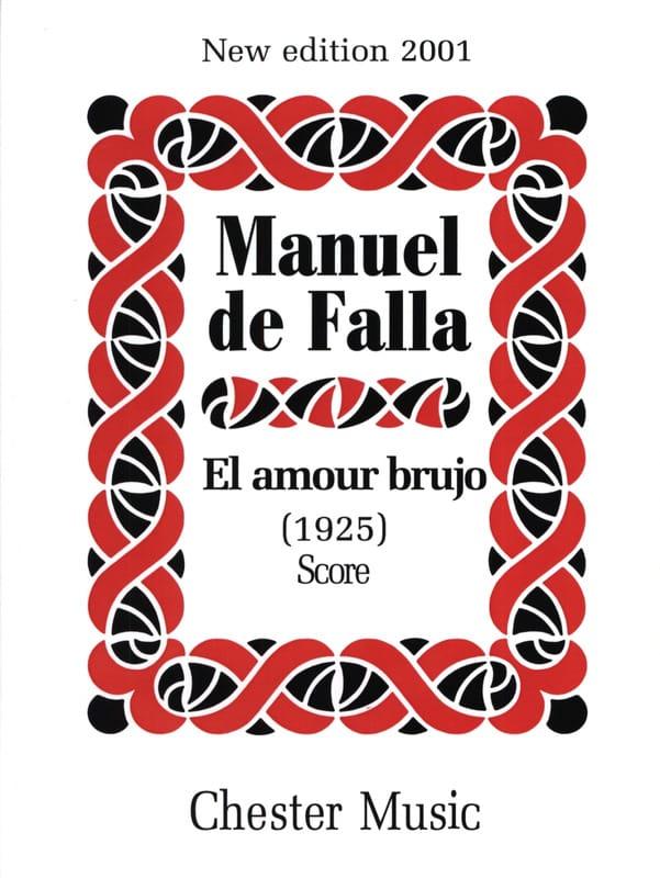 El amor brujo 1925 - Score - DE FALLA - Partition - laflutedepan.com
