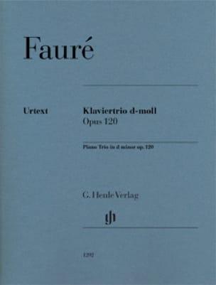 Trio avec piano en ré mineur op. 120 - FAURÉ - laflutedepan.com