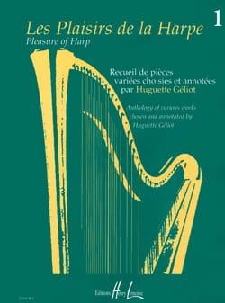 Les Plaisirs de la Harpe Volume 1 Partition Harpe - laflutedepan