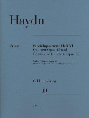 Quatuors à cordes volume VI op. 42 et op. 50 Quatuors Prussiens laflutedepan
