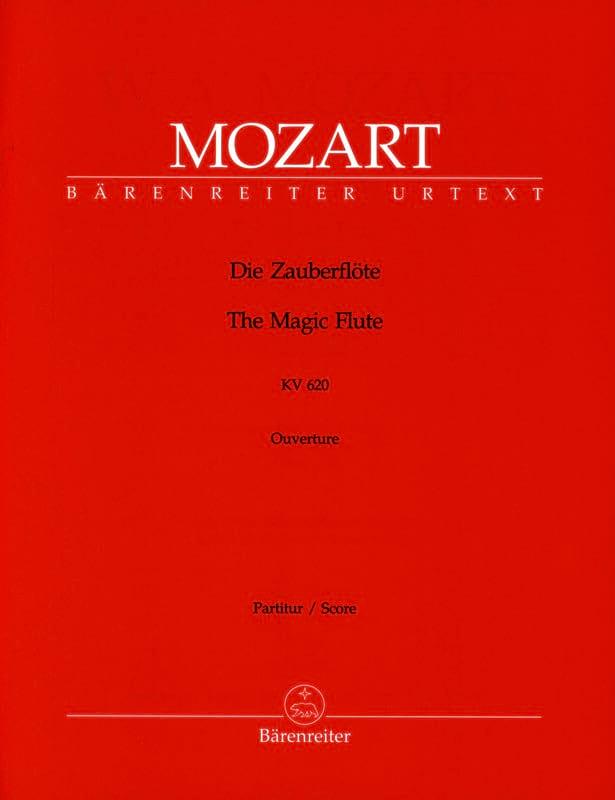 Die Zauberflote - Ouvertüre KV 620 - Partitur - laflutedepan.com