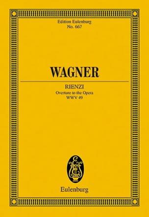 Rienzi, Ouverture Wwv 49 - WAGNER - Partition - laflutedepan.com