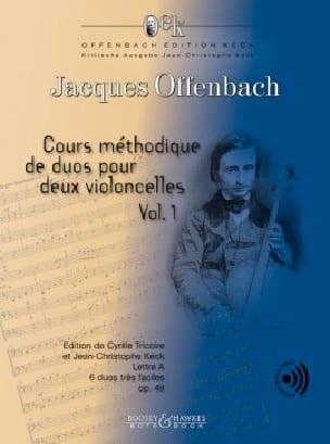 Cours méthodique de duos op. 49 - Volume 1 OFFENBACH laflutedepan
