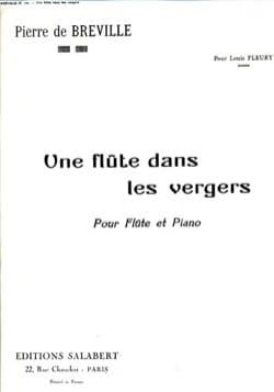 Une flûte dans les vergers Pierre-Onfroy de Bréville laflutedepan
