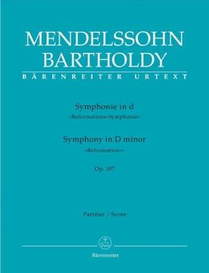 Symphonie en Ré Min. Op. 107 MENDELSSOHN Partition laflutedepan