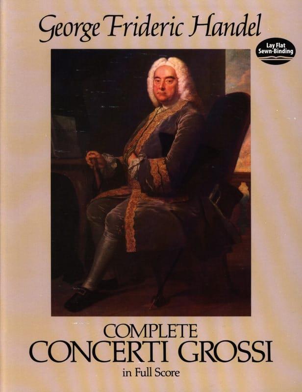 Complete Concerti Grossi - Full Score - HAENDEL - laflutedepan.com