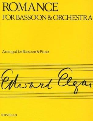 Romance op. 62 -Bassoon piano ELGAR Partition Basson - laflutedepan