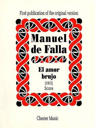 El amor brujo 1915 - Score - DE FALLA - Partition - laflutedepan.com