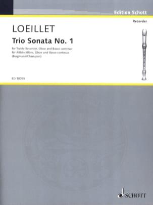 Trio-Sonate Nr. 1 In F-Dur - Altblockflöte Oboe u. Bc laflutedepan