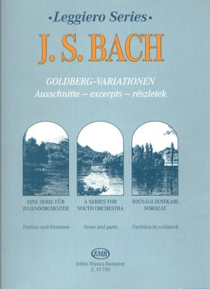 Variations Goldberg extr. - String orch. BACH Partition laflutedepan