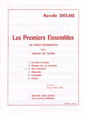 Petit tambourin Marcelle Soulage Partition Violon - laflutedepan