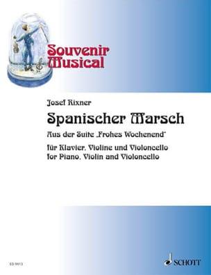 Spanischer Marsch - Josef Rixner - Partition - laflutedepan.com