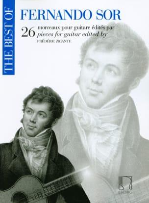The Best of Fernando Sor - Guitare SOR Partition laflutedepan