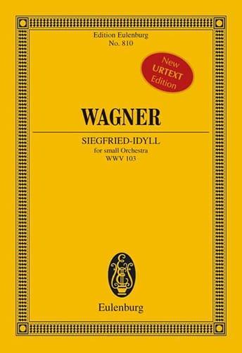 Siegfried-Idyll WWV 103 - Partitur - WAGNER - laflutedepan.com
