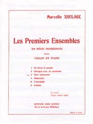 Petit tambourin - Marcelle Soulage - Partition - laflutedepan.com