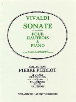 Sonate en ut mineur -Hautbois VIVALDI Partition laflutedepan