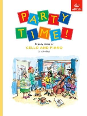 Party Time! / Cello - Partition - Violoncelle - laflutedepan.com
