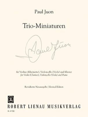 Trio - Miniatures Op. 18 N° 3, 6, 7 et Op. 24 N° 2 laflutedepan