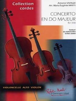 VIVALDI - Concerto En Do Maj. Rv.398 - Partition - di-arezzo.fr