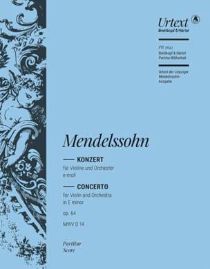 Violin Concerto in E minor Op. 64 MWV O 14 laflutedepan