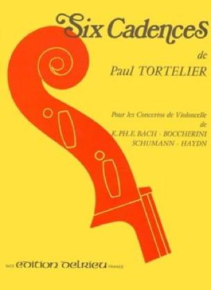 6 Cadences - Paul Tortelier - Partition - laflutedepan.com