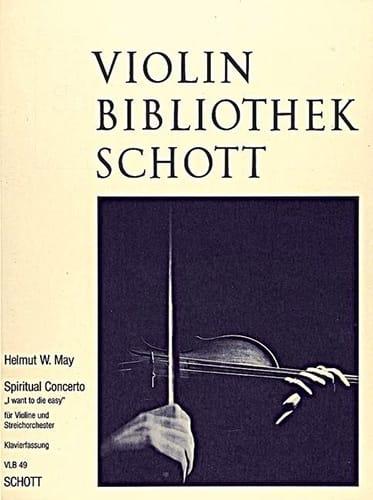 Spiritual Concerto - Helmut W. May - Partition - laflutedepan.com