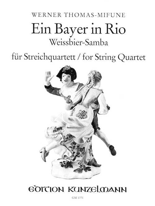 Ein Bayer in Rio - String quartet - laflutedepan.com