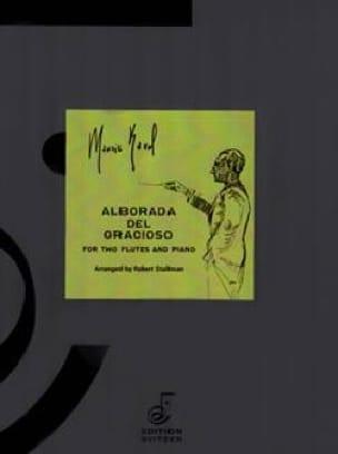 Alborada del Gracioso - 2 Flûtes et Piano - RAVEL - laflutedepan.com