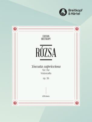 Toccata Capricciosa op. 36 Miklos Rozsa Partition laflutedepan