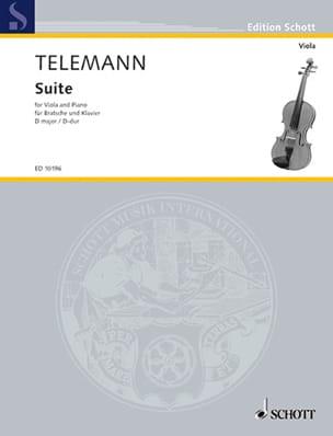 TELEMANN - D-Dur Suite - Viola - Partition - di-arezzo.es