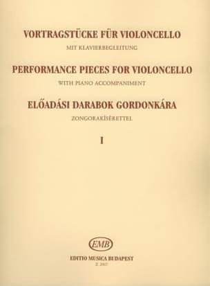 Performance pieces for violoncello, Volume 1 Emöke Csath laflutedepan