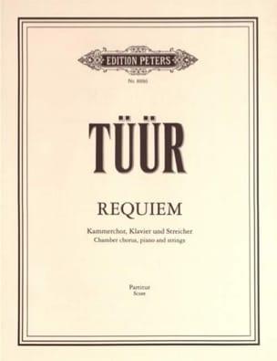 Requiem - Partitur Erkki-Sven Tüür Partition laflutedepan