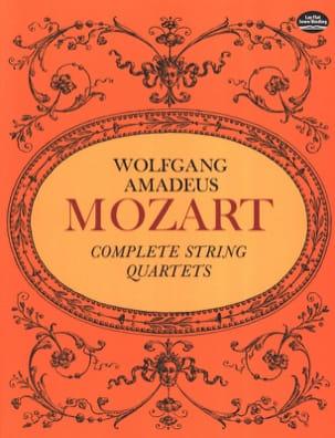Complete String Quartets - Full Score MOZART Partition laflutedepan
