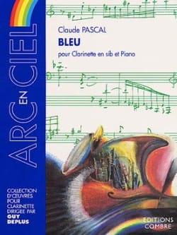 Bleu Claude Pascal Partition Clarinette - laflutedepan