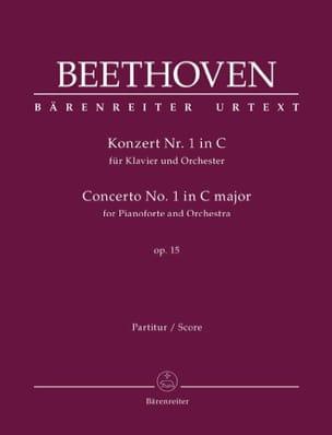 Concerto pour piano et orchestre n° 1 en ut majeur, op. 15 laflutedepan