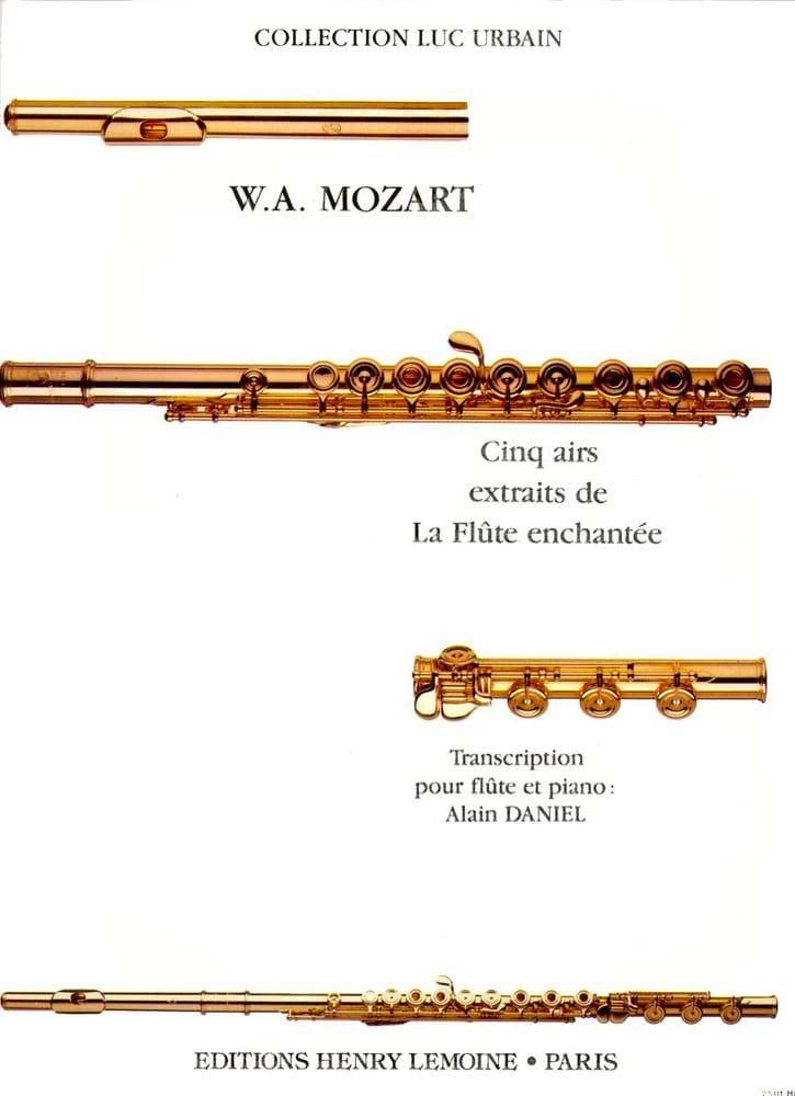 5 Airs de La Flûte enchantée - Flûte piano - MOZART - laflutedepan.com