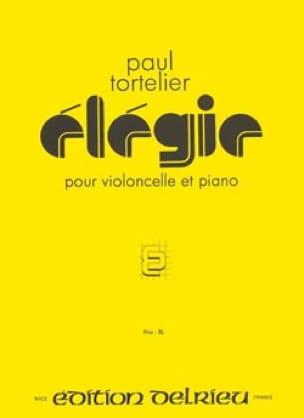 Elégie - Paul Tortelier - Partition - Violoncelle - laflutedepan.com